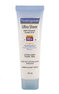 Neutrogena Dry Touch Sunblock