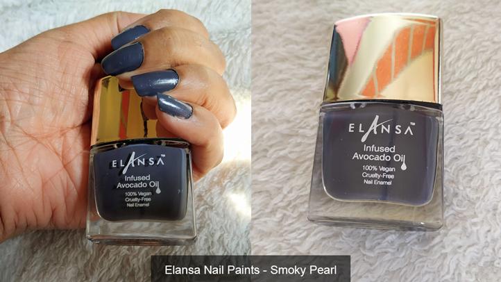Elansa Nail Paints - Smoky Pearl