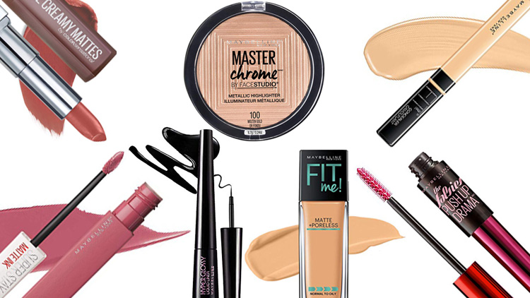 Best Maybelline New York products available in the Indian market
