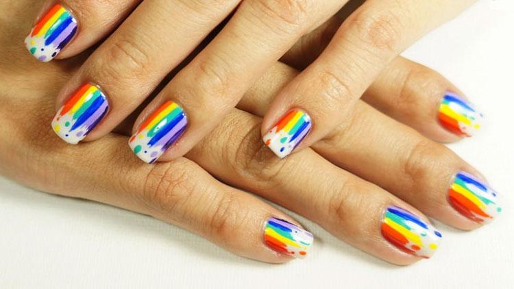 10 best Monsoon Nail art ideas