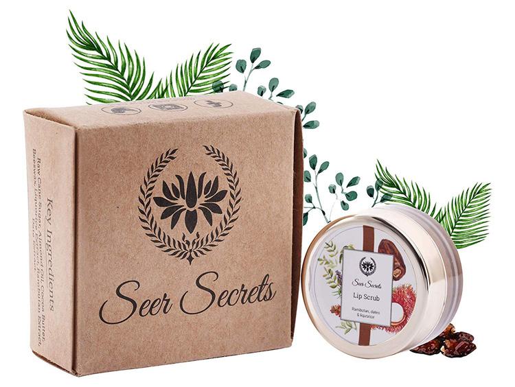 Seer Secrets Lip scrub review