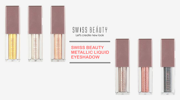 Swiss beauty metallic liquid eyeshadow review