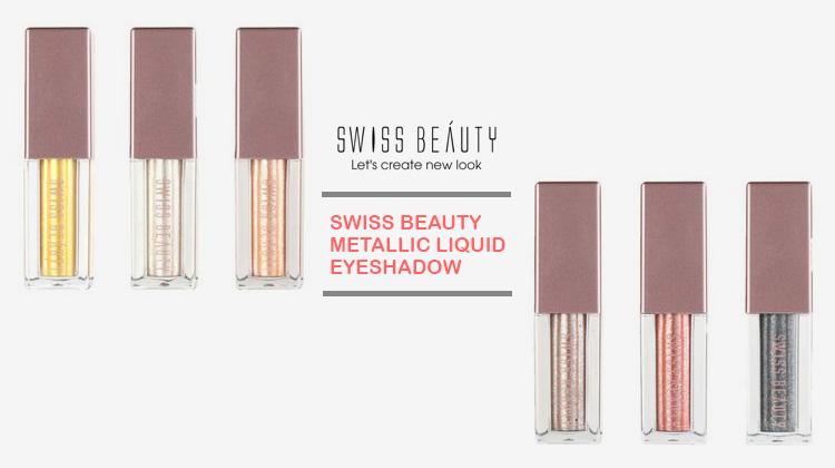 Swiss beauty metallic liquid eyeshadow review
