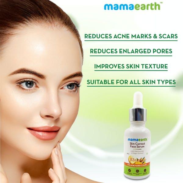 Use of Mamaearth Skin Correct Face Serum