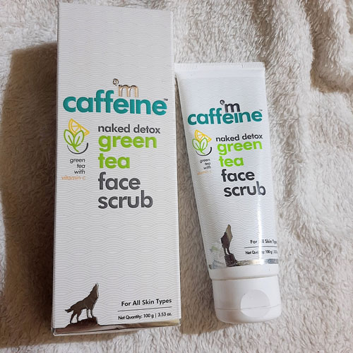 About Mcaffeine Naked Detox Green Tea Face Scrub